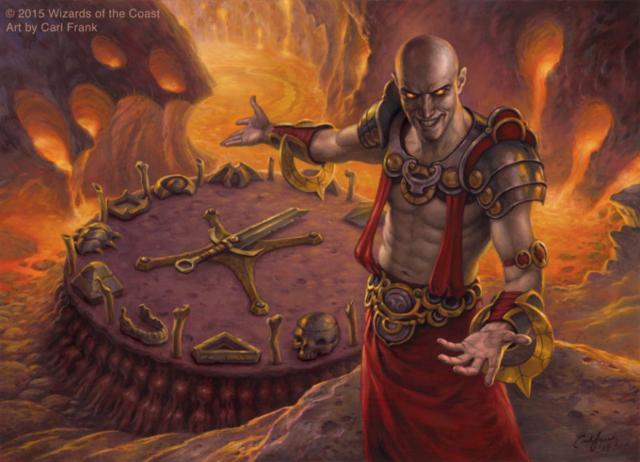 M:TG Magic Magus of the Wheel Fantasy Art Wizard