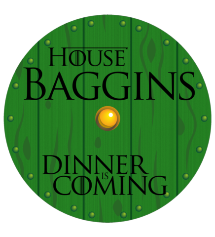 Adobe Illustrator Illustration design Baggins Hobbit LOTR GoT Game of Thrones